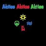 "Das CREW Logo mit Schriftzug ""Aktion Aktion Aktion. CREW-Tag"""