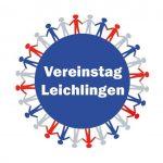 Logo des Leichlinger Vereinstags mit Bunten Menschen auf einer Weltkugel
