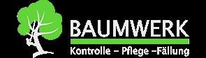 Das Logo der Firma Baumwerk aus Leichlingen