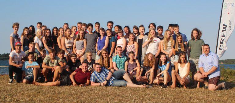 Gruppenbild von Jugendlichen