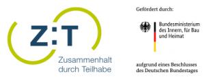 Logo Zusammenhalt durch Teilhabe